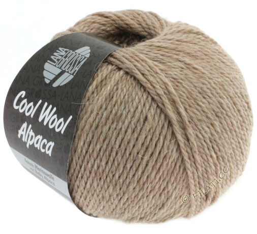Пряжа Lana Grossa COOL WOOL ALPACA, меринос/альпака, 140 м/ 50 г 12