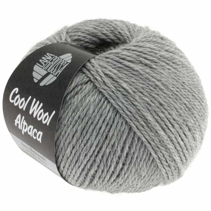 Пряжа Lana Grossa COOL WOOL ALPACA, меринос/альпака, 140 м/ 50 г 07