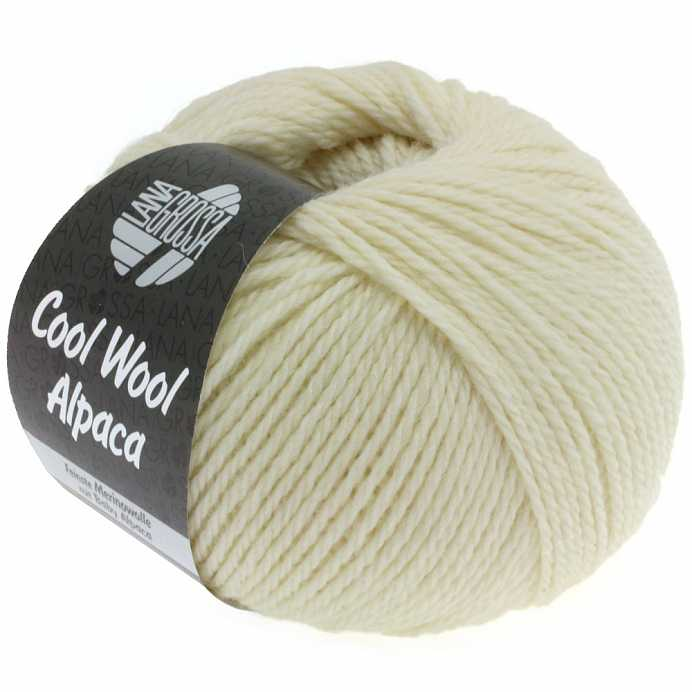 Пряжа Lana Grossa COOL WOOL ALPACA, меринос/альпака, 140 м/ 50 г 13