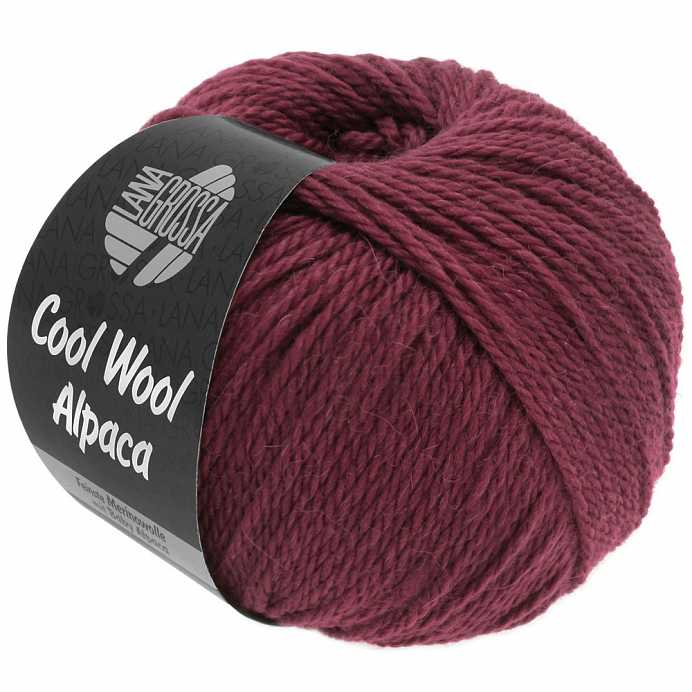 Пряжа Lana Grossa COOL WOOL ALPACA, меринос/альпака, 140 м/ 50 г 41