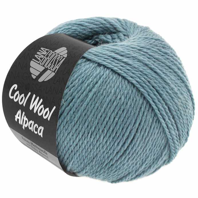 Пряжа Lana Grossa COOL WOOL ALPACA, меринос/альпака, 140 м/ 50 г 27